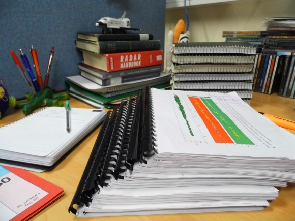 Just a selection of the notebooks and draft versions of The Thesis that I've eaten through in the last 4+ years.
