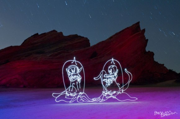Light painting by Darren Pearson http://www.dariustwin.com/