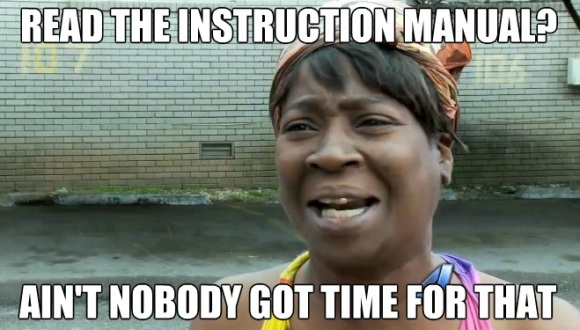 Ain't Nobody Got Time Fo' That